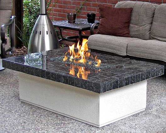Coffee Table Style Fire Table Outdoor Fire Designs