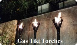 Gas Tiki Torches