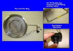 Drop-In Fire Pit Kits