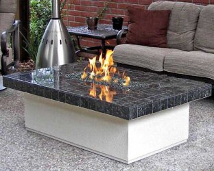 Coffee Table Style Fire Table