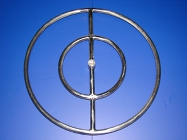 18 Round Stainless Steel Fire Ring Outdoor Fire Designs