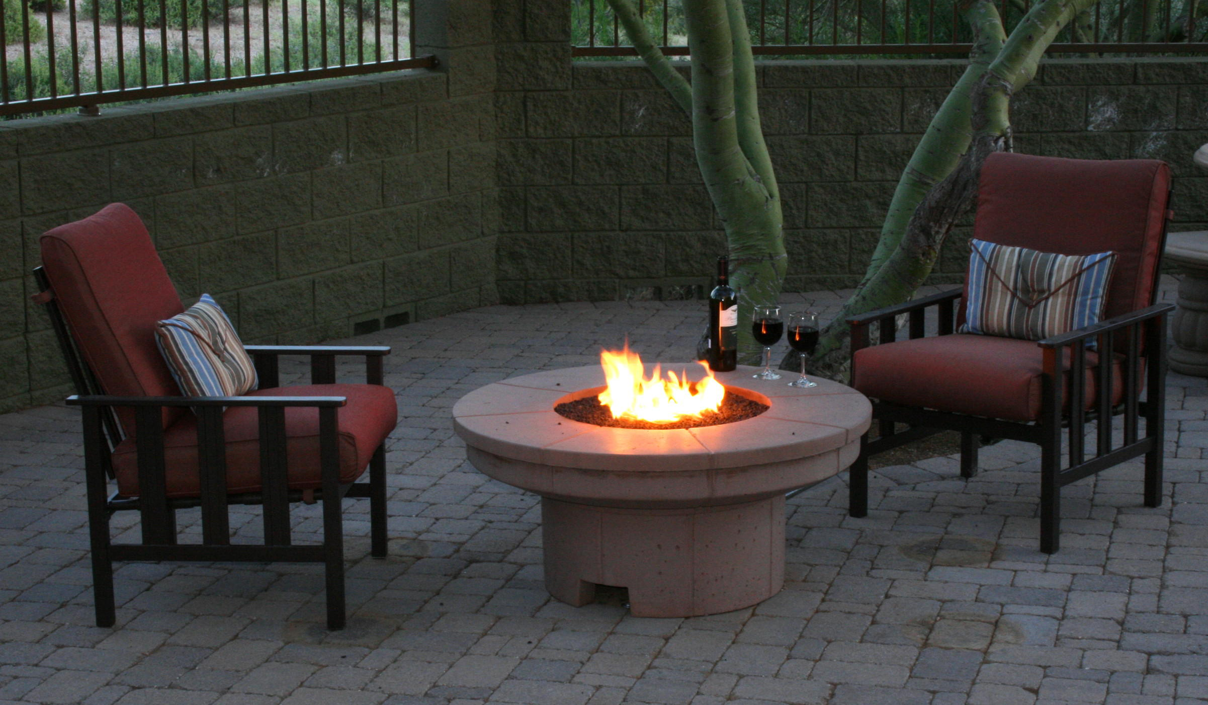 Concrete Fire Table Outdoor Fire Designs
