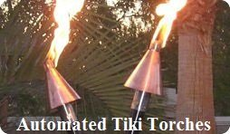 Automated Tiki Torches